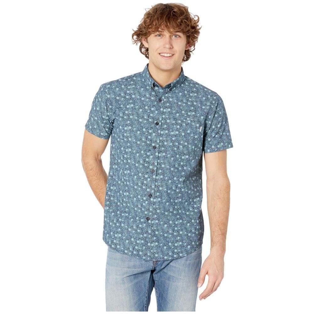 リップカール Rip Curl メンズ トップス 半袖シャツ【Dorado Short Sleeve Shirt】Navy