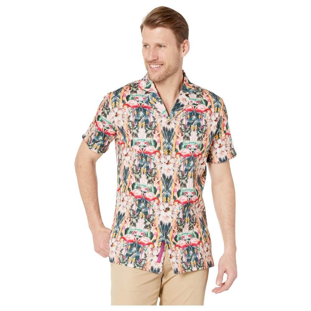 ロバートグラハム Robert Graham メンズ トップス 半袖シャツ【Flamingo Camp Short Sleeve Knit Shirt】Multi