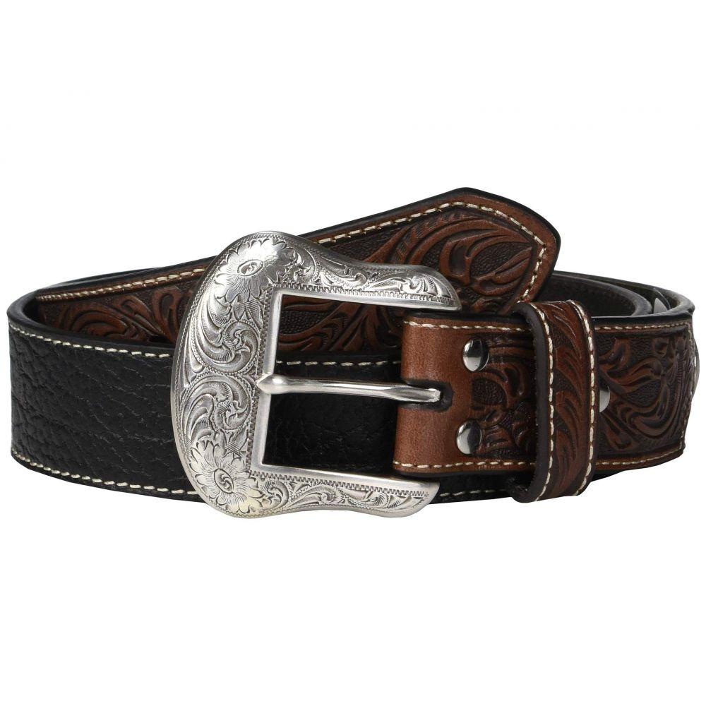 エムアンドエフ ウエスタン M&F Western メンズ ベルト【Nocona Embossed Billets Belt】Black