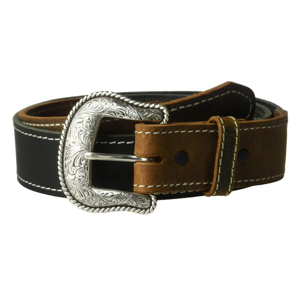 エムアンドエフ ウエスタン M&F Western メンズ ベルト【Nocona USA Lubbock Belt】Black