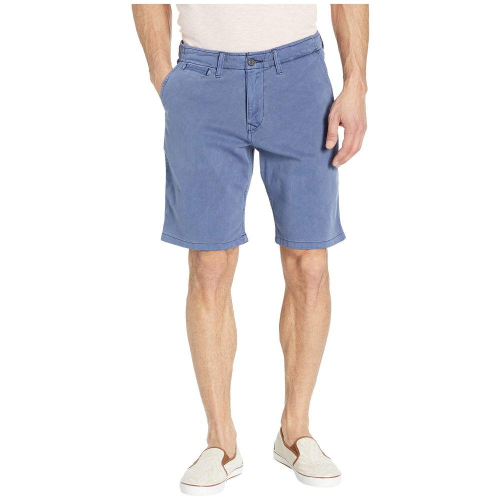 ラッキーブランド Lucky Brand メンズ ボトムス・パンツ ショートパンツ【Flat Front Shorts】Blue Print