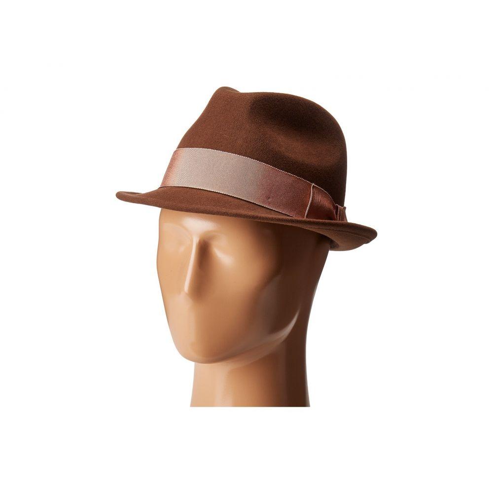 カントリージェントルマン Country Gentleman メンズ 帽子 ハット【Floyd Traditional Wool Fedora Hat】Chestnut