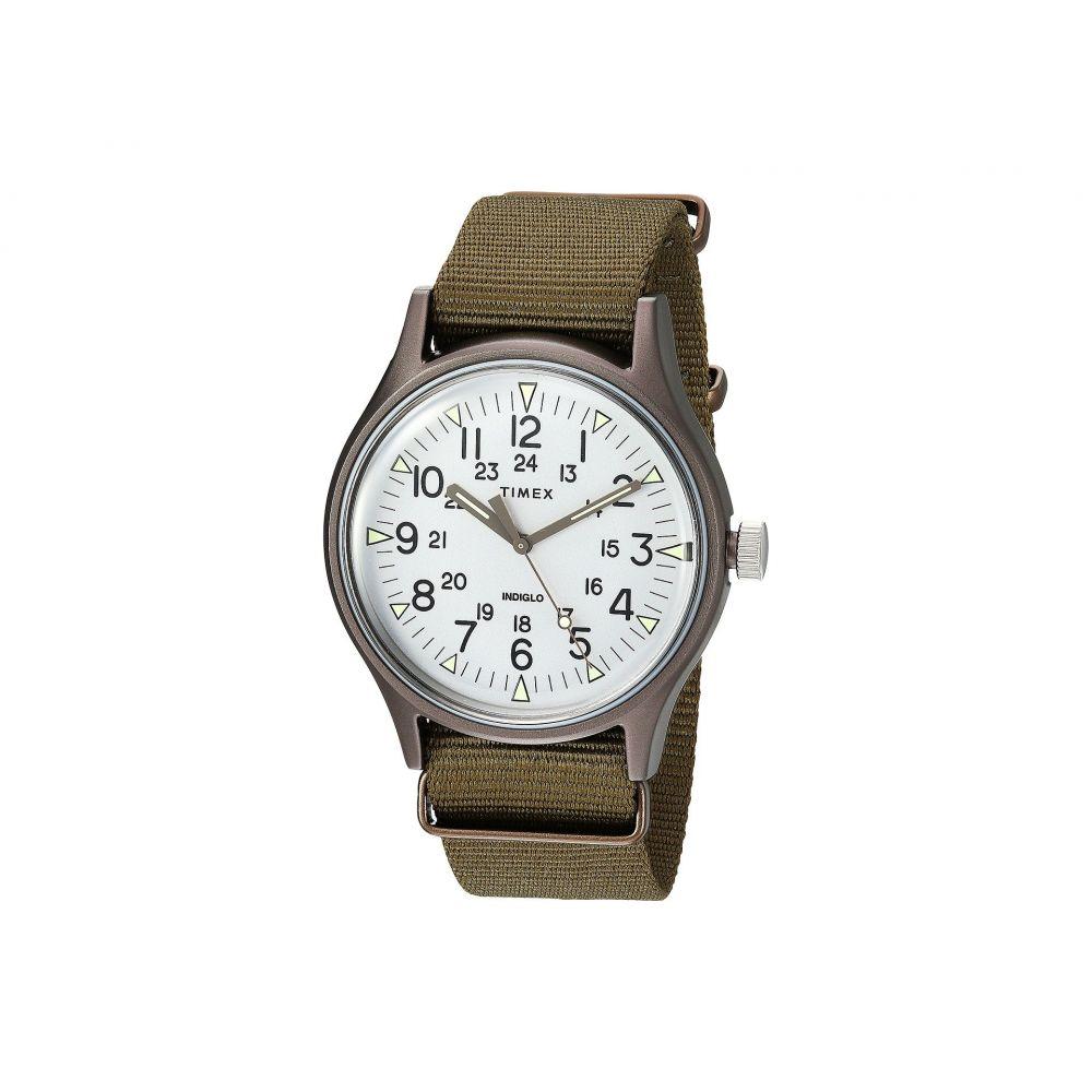 タイメックス Timex メンズ 腕時計【MK1 Aluminum 3-Hand】Olive/Silver