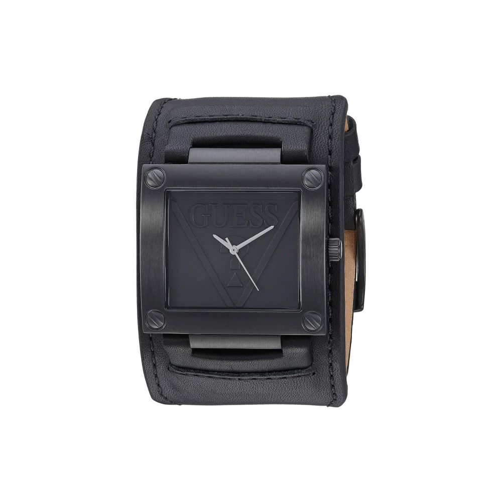 ゲス GUESS メンズ 腕時計【U1166G2】Black