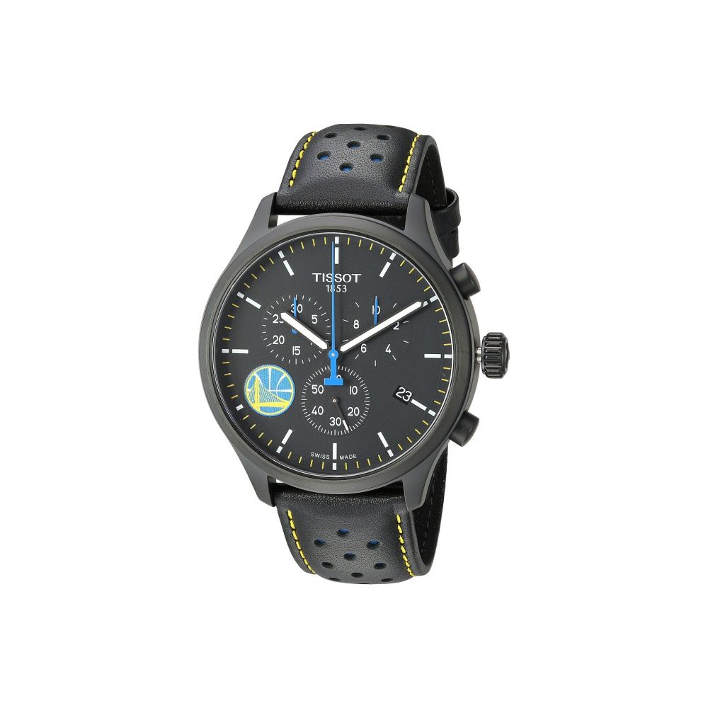 ティソ Tissot メンズ 腕時計【Chrono XL NBA Golden State Warriors Championship Edition - T1166173605102】Black/Black/Blue