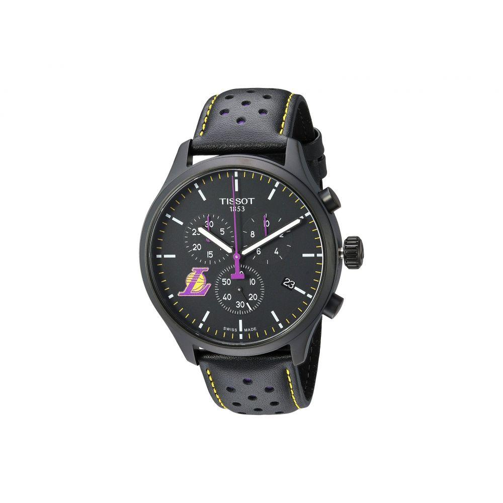 ティソ Tissot メンズ 腕時計【Chrono XL NBA Chronograph La Lakers - T1166173605103】Black/Black/Purple