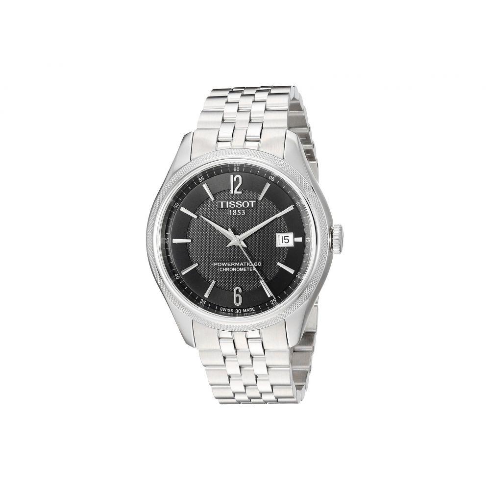 ティソ Tissot メンズ 腕時計【Ballade Powermatic 80 Cosc - T1084081105700】Black/Grey