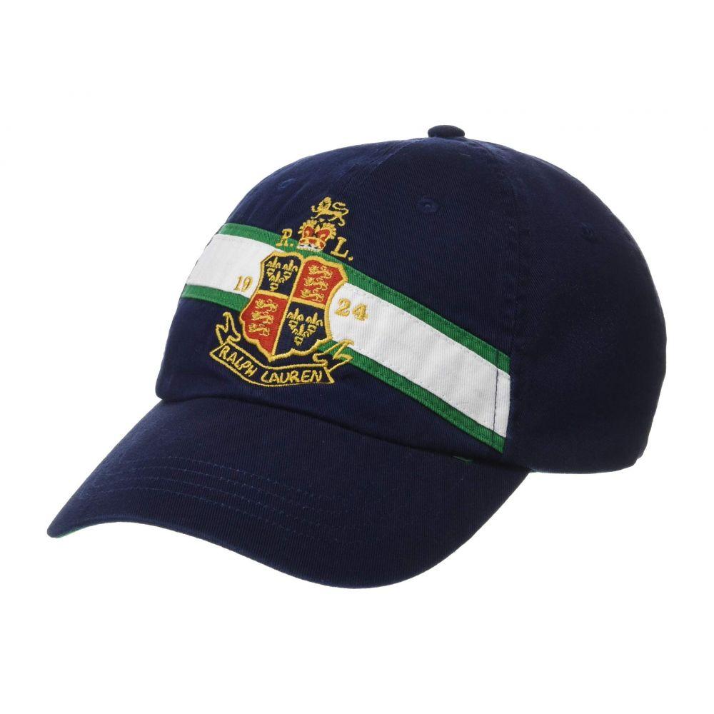 ラルフ ローレン Polo Ralph Lauren メンズ 帽子 キャップ【Classic Chino Cap】Newport Navy/Crest