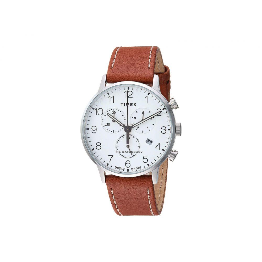 タイメックス Timex メンズ 腕時計【Waterbury Traditional Day Date】Tan/White