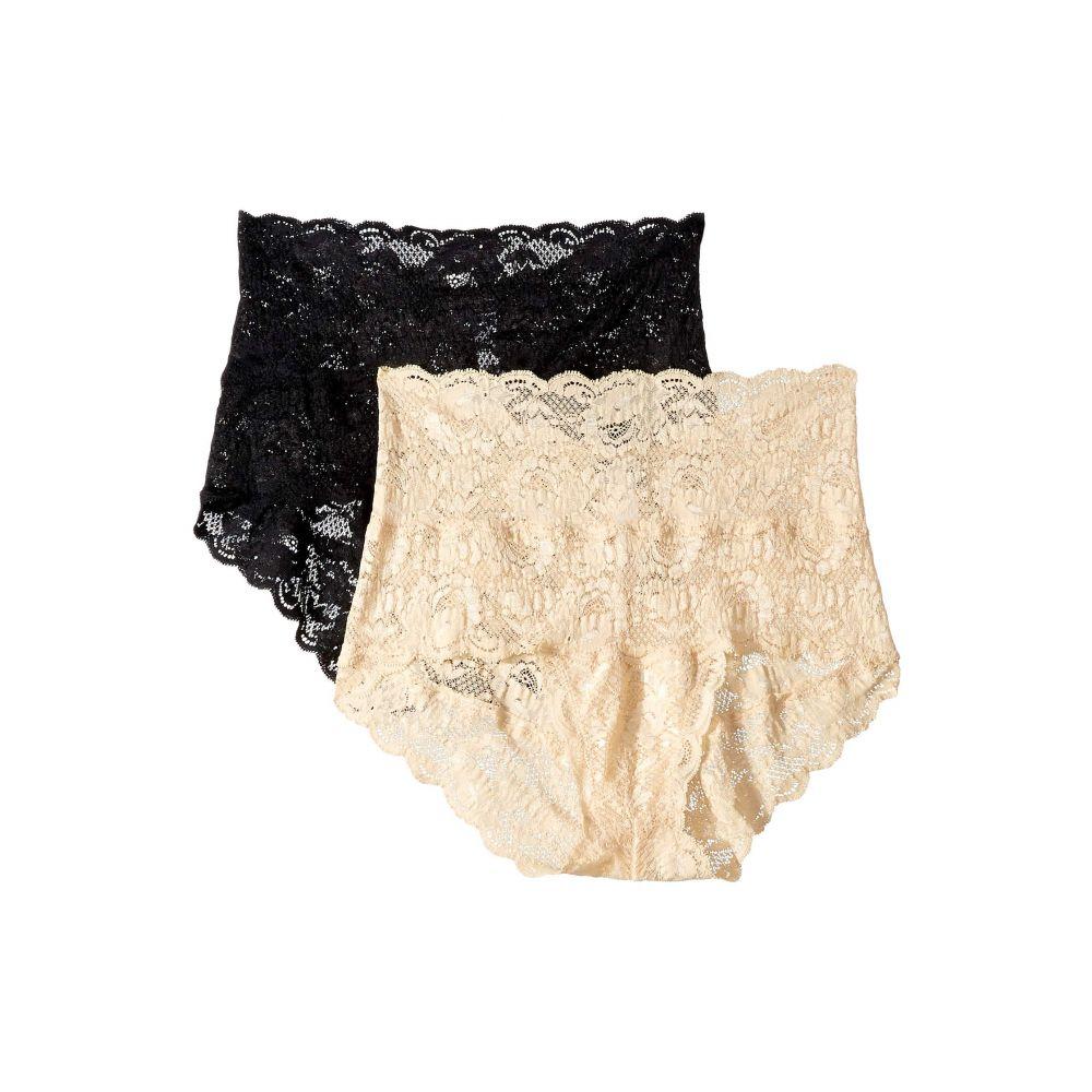 コサベラ Cosabella レディース インナー・下着 ショーツのみ【Never Say Never High-Rise Bikini 2-Pack】Black/Blush