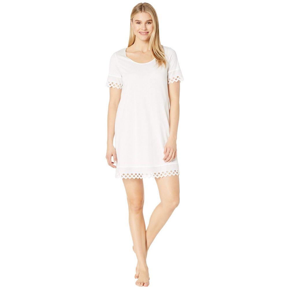 ハンロ Hanro レディース インナー・下着 パジャマ・トップのみ【Bella Short Sleeve Gown】White