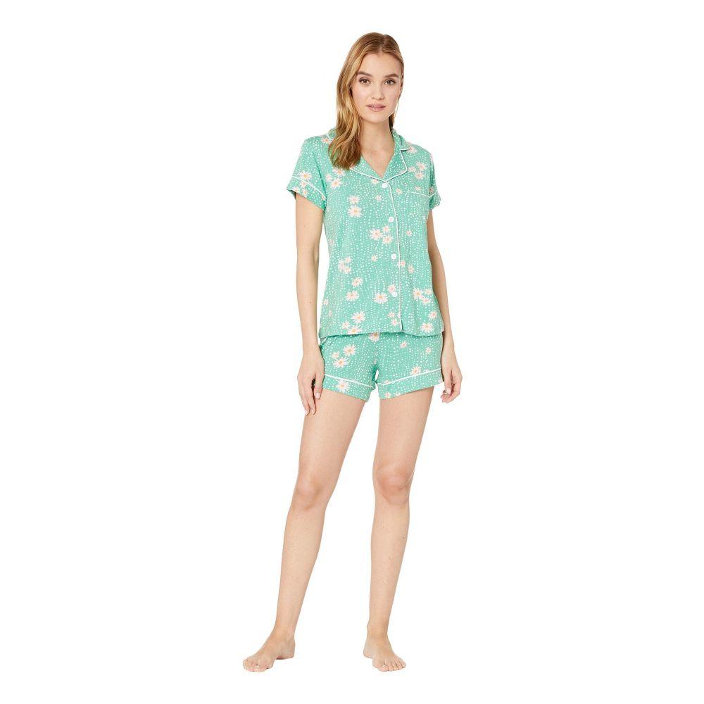 ザ キャッツ パジャマズ The Cat's Pajamas レディース インナー・下着 パジャマ・上下セット【Lazy Daisy Short Set】Green