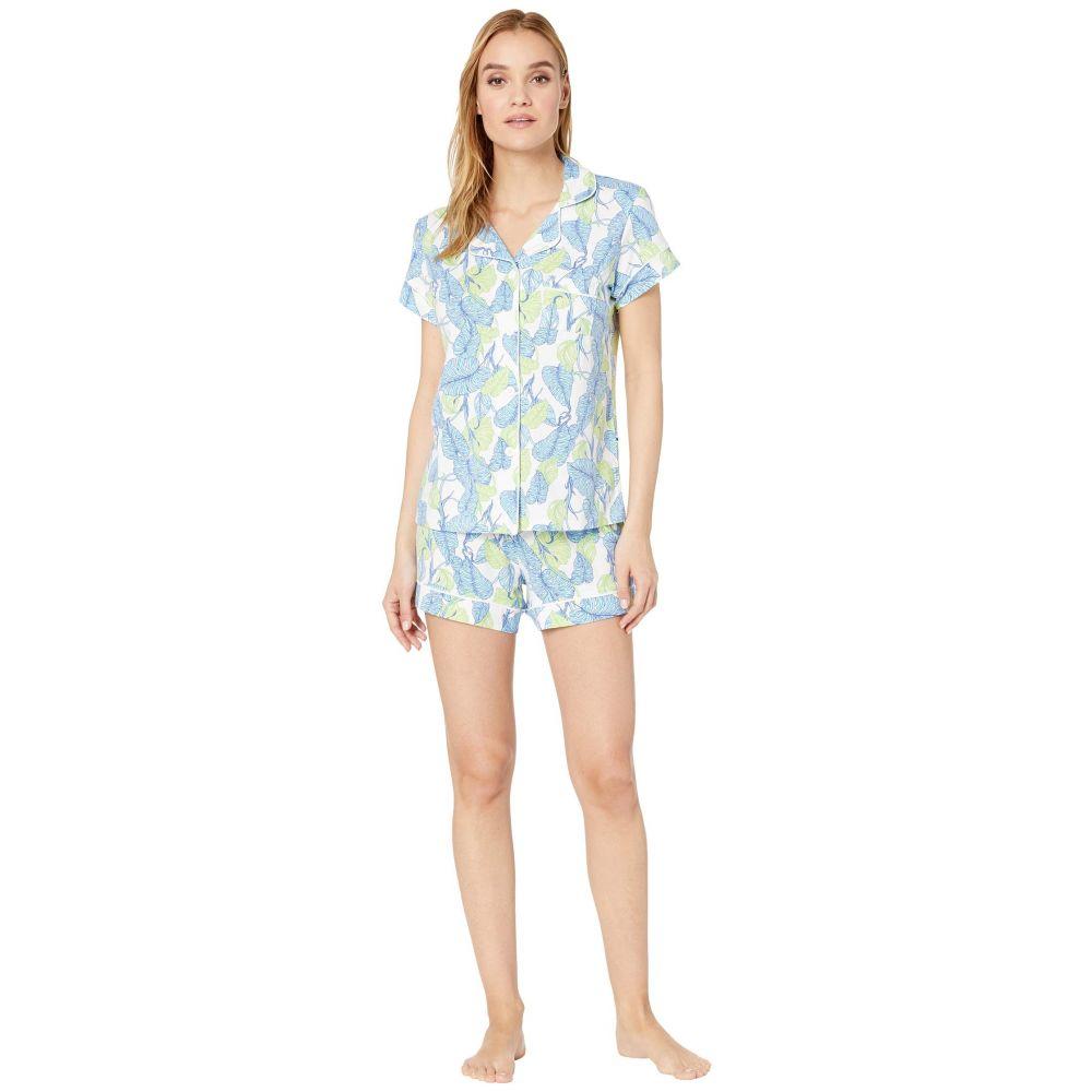 ザ キャッツ パジャマズ The Cat's Pajamas レディース インナー・下着 パジャマ・上下セット【West Palm Beach Short Set】White