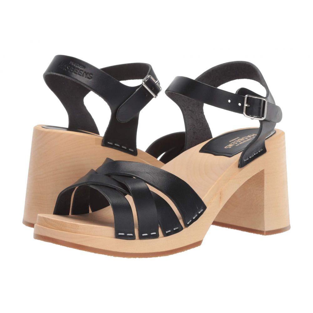 スウェディッシュ ハズビーンズ Swedish Hasbeens レディース シューズ・靴 サンダル・ミュール【Elsie】Black