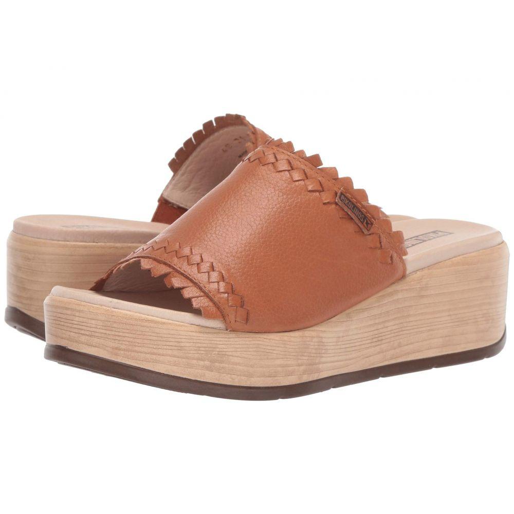 ピコリノス Pikolinos レディース シューズ・靴 サンダル・ミュール【Costacabana W3X-1749BG】Brandy