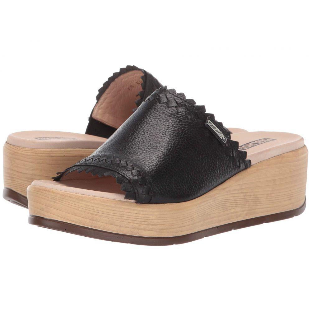 ピコリノス Pikolinos レディース シューズ・靴 サンダル・ミュール【Costacabana W3X-1749BG】Black