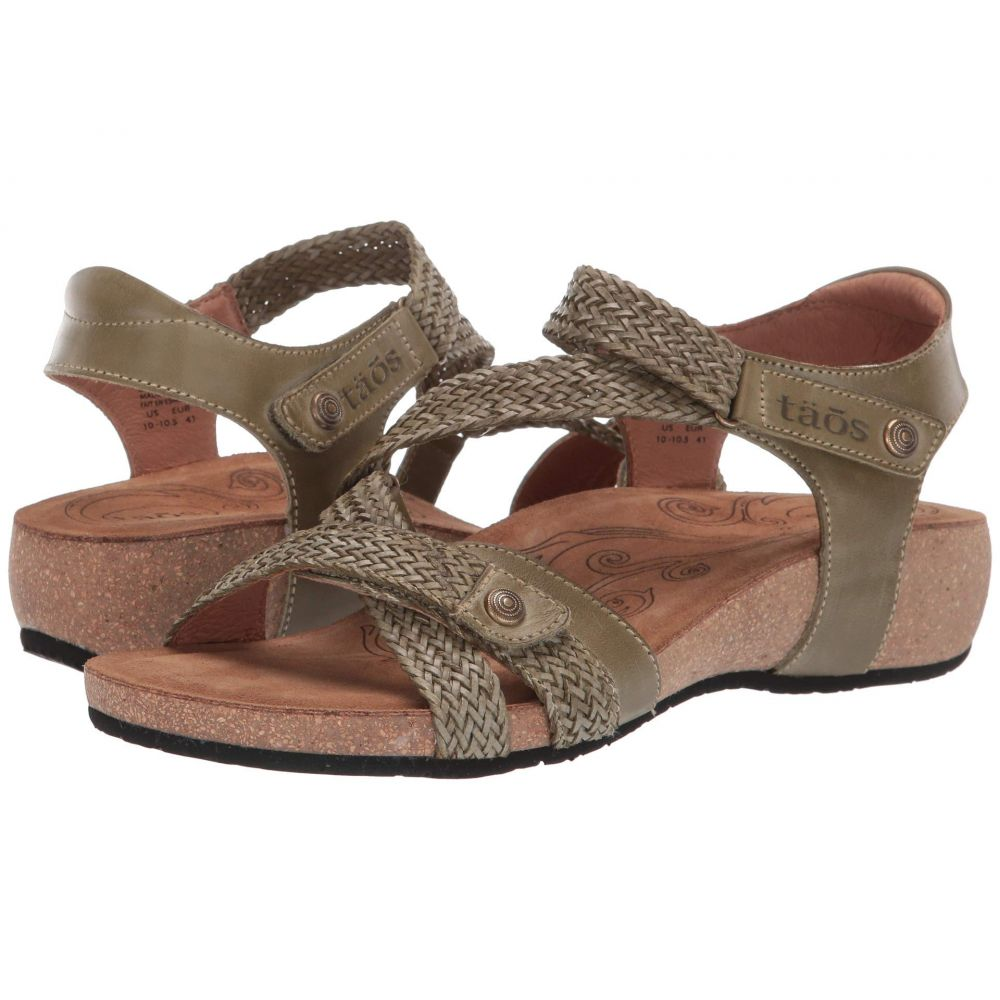 タオス Taos Footwear レディース シューズ・靴 サンダル・ミュール【Trulie】Herb Green