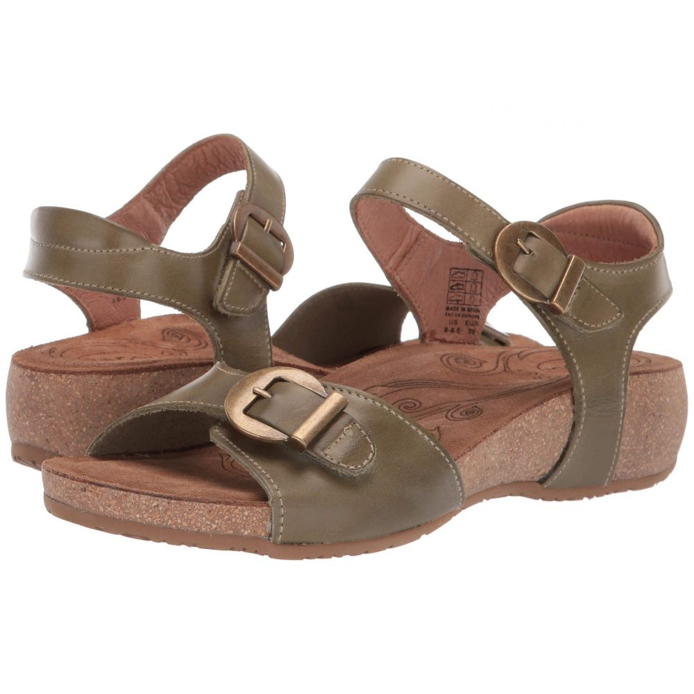 タオス Taos Footwear レディース シューズ・靴 サンダル・ミュール【Vera】Herb Green