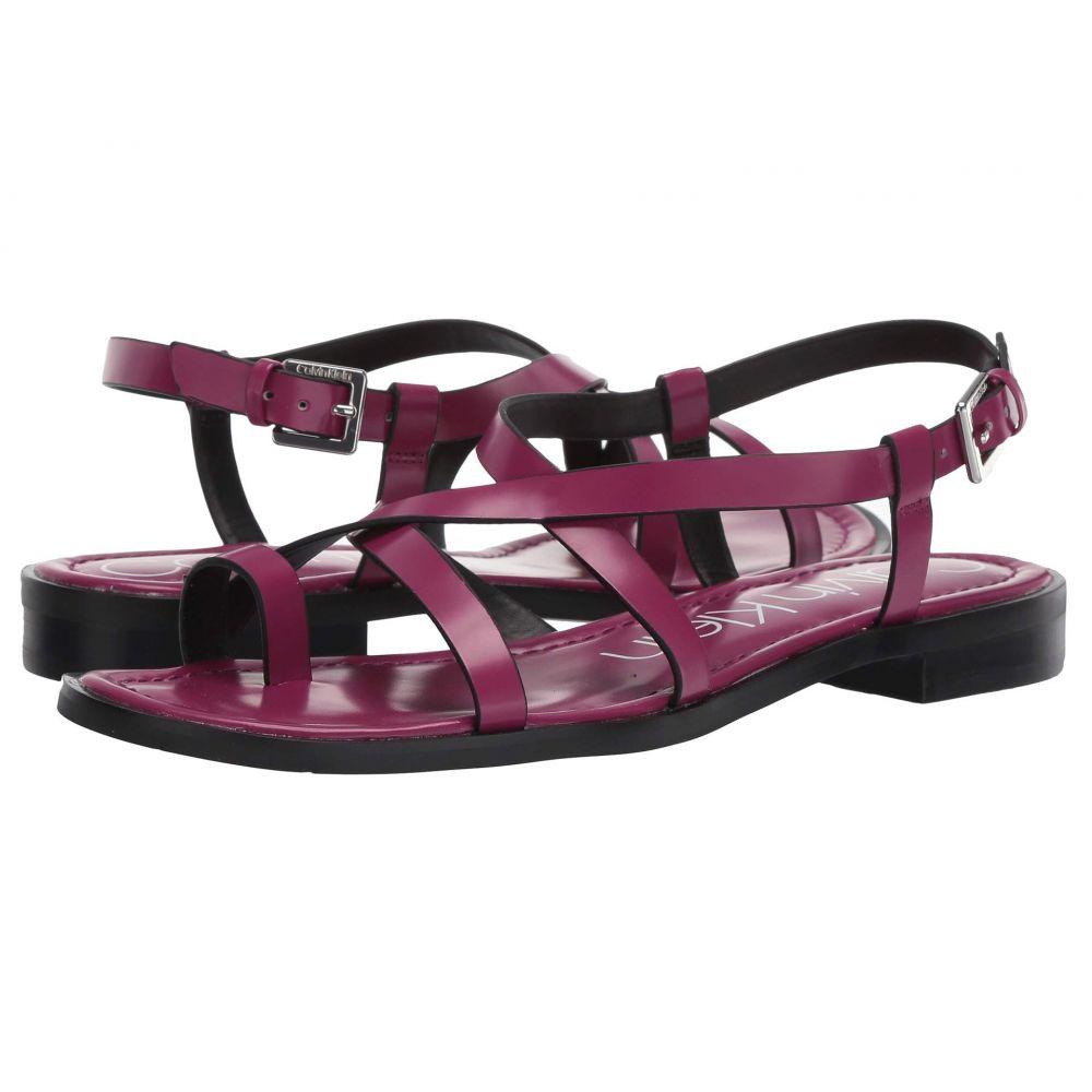 カルバンクライン Calvin Klein レディース シューズ・靴 サンダル・ミュール【Tica】Magenta Box