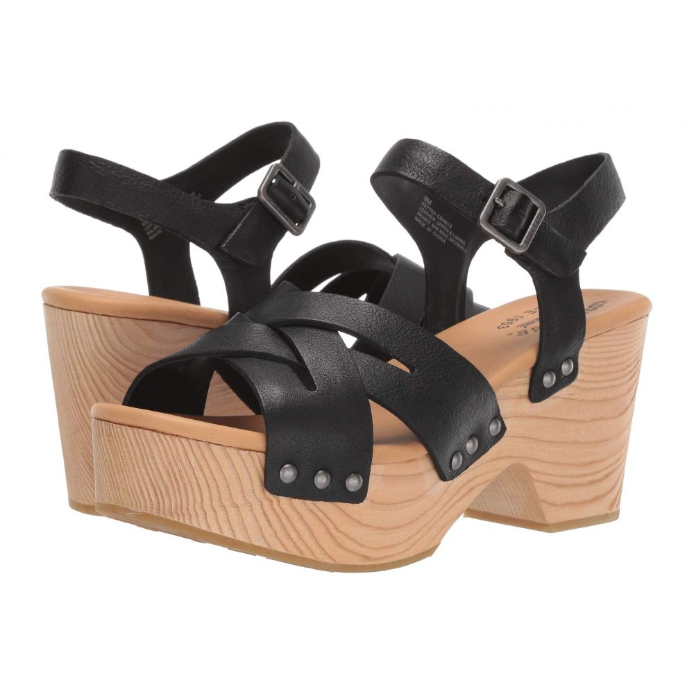 コークイーズ Kork-Ease レディース シューズ・靴 サンダル・ミュール【Wausau】Black Full Grain Leather