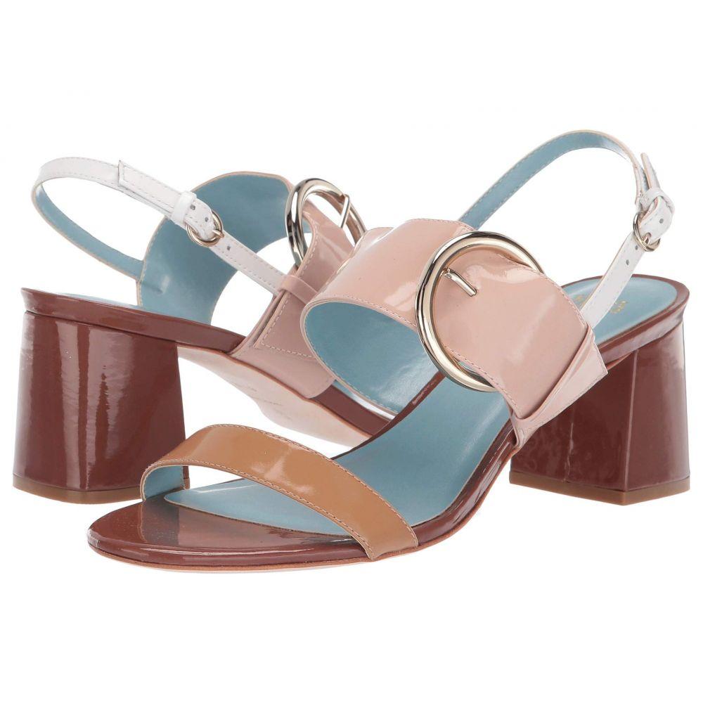 フランシス ヴァレンタイン Frances Valentine レディース シューズ・靴 サンダル・ミュール【Betty Heeled Sandal】Dark Camel/Pink/Light Camel Soft Patent