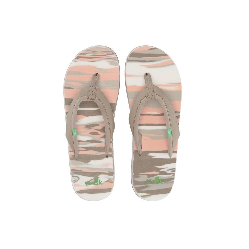 サヌーク Sanuk レディース シューズ・靴 ビーチサンダル【Yoga Mat 2 Marbled】Natural Multi