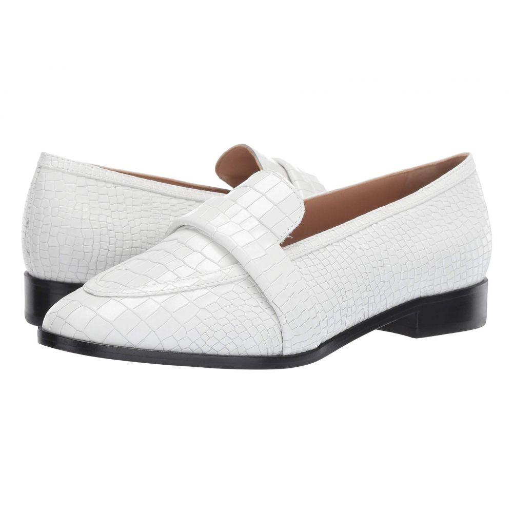 シュッツ Schutz レディース シューズ・靴 スリッポン・フラット【Romina】White Croco New