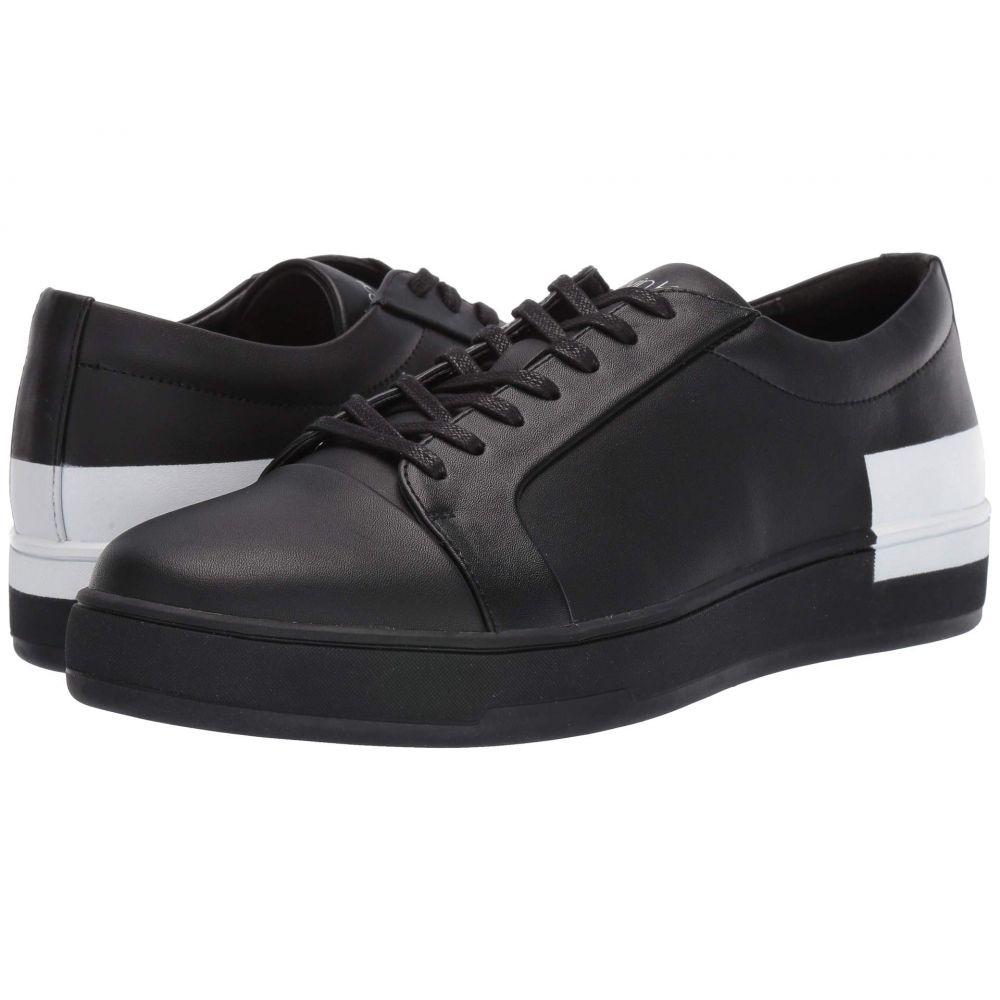 カルバンクライン Calvin Klein メンズ シューズ・靴 スニーカー【Nemi】Black Nappa Smooth Calf/Logo Over Print