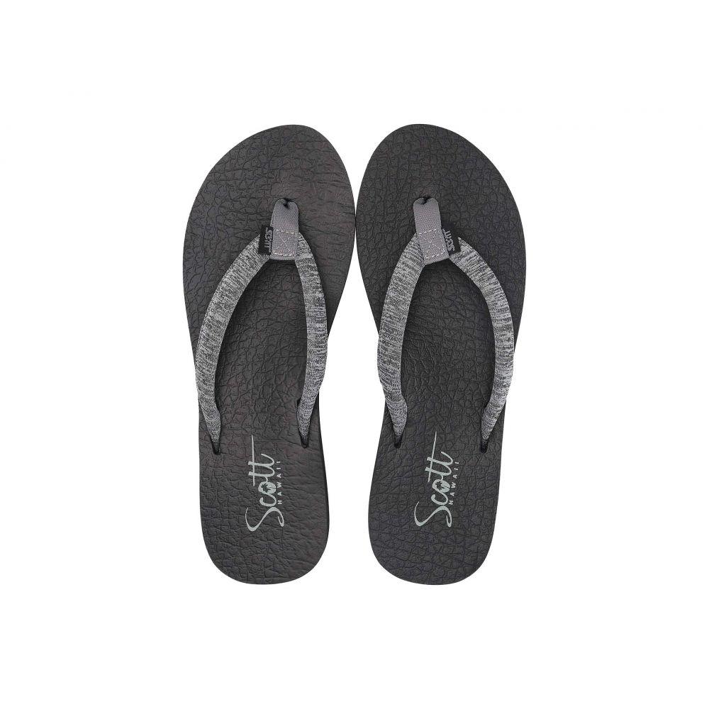 スコットハワイ Scott Hawaii レディース シューズ・靴 ビーチサンダル【Kule'A】Gray