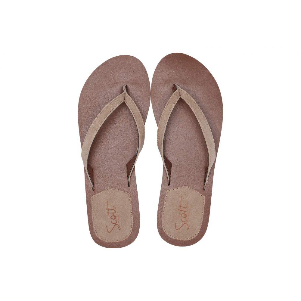 スコットハワイ Scott Hawaii レディース シューズ・靴 ビーチサンダル【Mohala】Beige