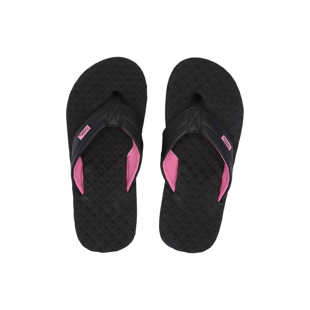 フロジョス Flojos レディース シューズ・靴 ビーチサンダル【Blair 2.0】Black/Pink