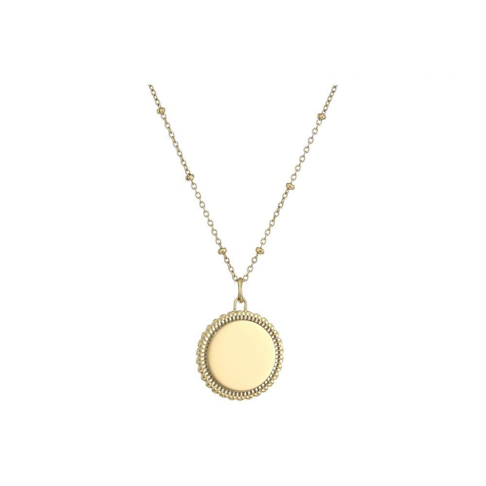 フォッシル Fossil フォッシル Round レディース ジュエリー・アクセサリー ネックレス Chain【Casual Round Pendant Chain Necklace】Gold, 竹内巨峰園:443f72fe --- sunward.msk.ru