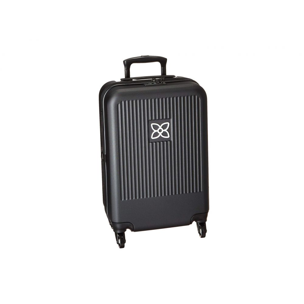 シェルパニ Sherpani レディース バッグ スーツケース・キャリーバッグ【Meridian Carry On Luggage】Black