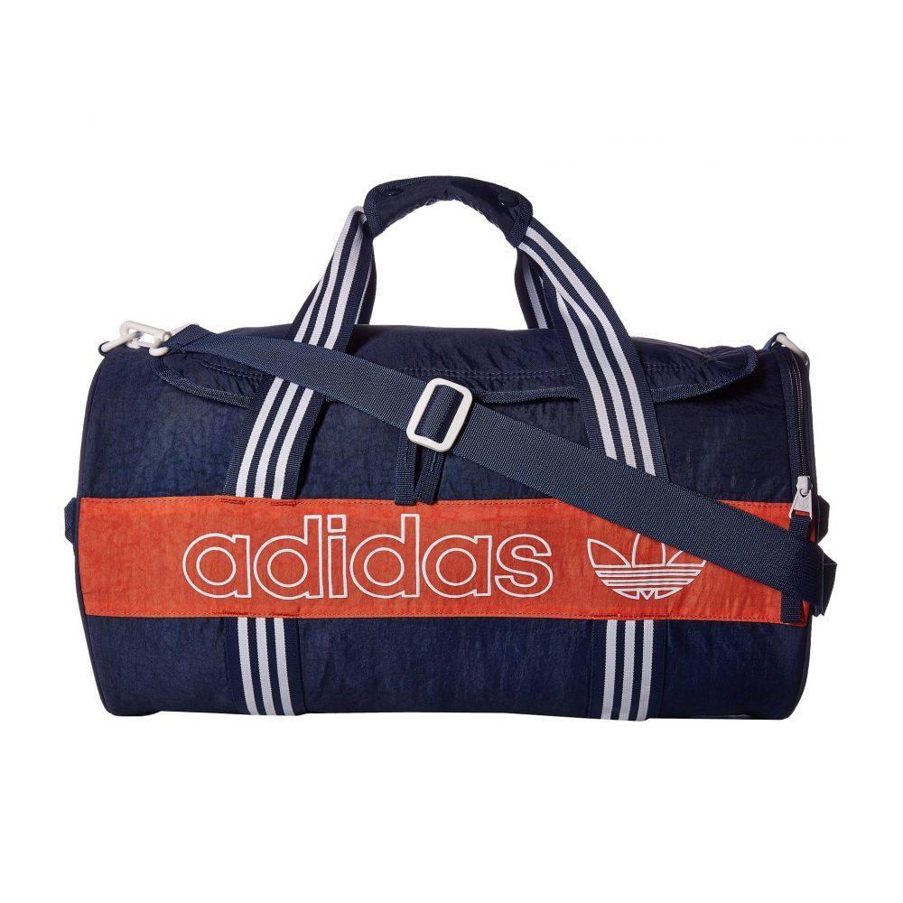 アディダス adidas Originals レディース バッグ ボストンバッグ・ダッフルバッグ【Originals Spirit Roll Duffel】Collegiate Navy/Raw Amber/White