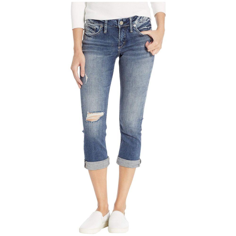 シルバー ジーンズ Silver Jeans Co. レディース ボトムス・パンツ ジーンズ・デニム【Elyse Curvy Fit Capri Jeans in Indigo L43022SDK360】Indigo