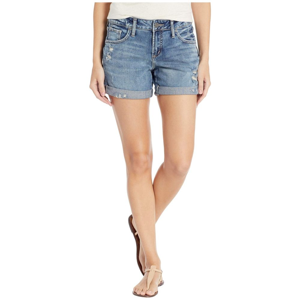 シルバー ジーンズ Silver Jeans Co. レディース ボトムス・パンツ ショートパンツ【Boyfriend Mid-Rise Shorts in Indigo L53608SCP307】Indigo