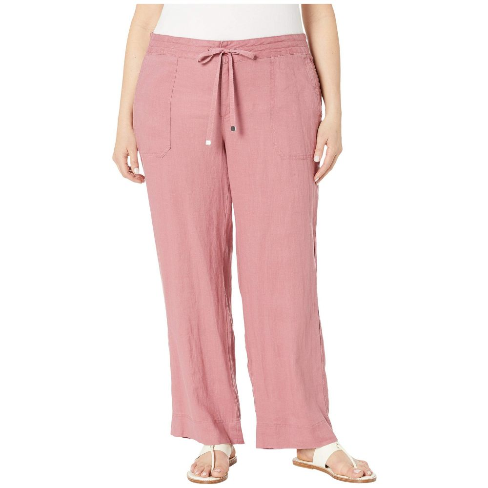 ラルフ ローレン LAUREN Ralph Lauren レディース ボトムス・パンツ【Plus Size Linen Wide-Leg Pants】Dry Berry