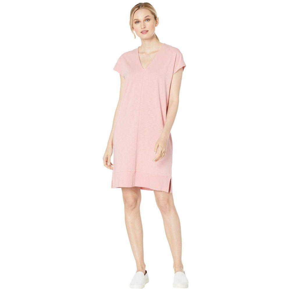 リラピー Lilla P レディース ワンピース・ドレス ワンピース【Rib Trim Flame Modal Dress】Desert Pink