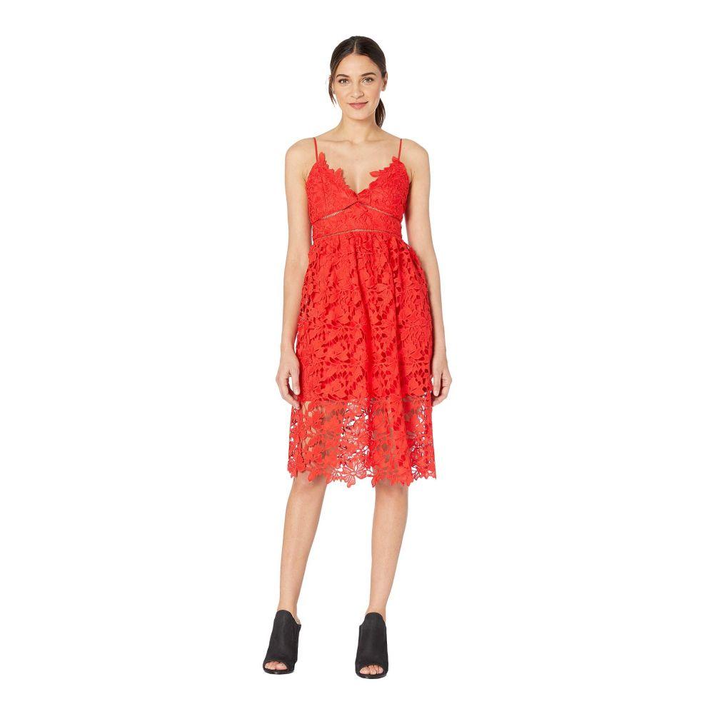 バルドー Bardot レディース ワンピース・ドレス ワンピース【Sonya Lace Dress】Fire Red