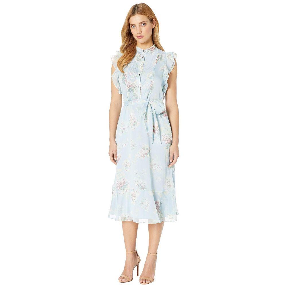 ラルフ ローレン LAUREN Ralph Lauren レディース ワンピース・ドレス ワンピース【Floral Belted Georgette Dress】Multi