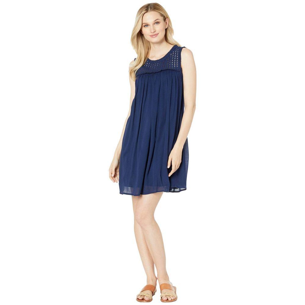 トミー バハマ Tommy Bahama レディース 水着・ビーチウェア ビーチウェア【Crinkle Rayon Sleeveless Dress】Mare Navy
