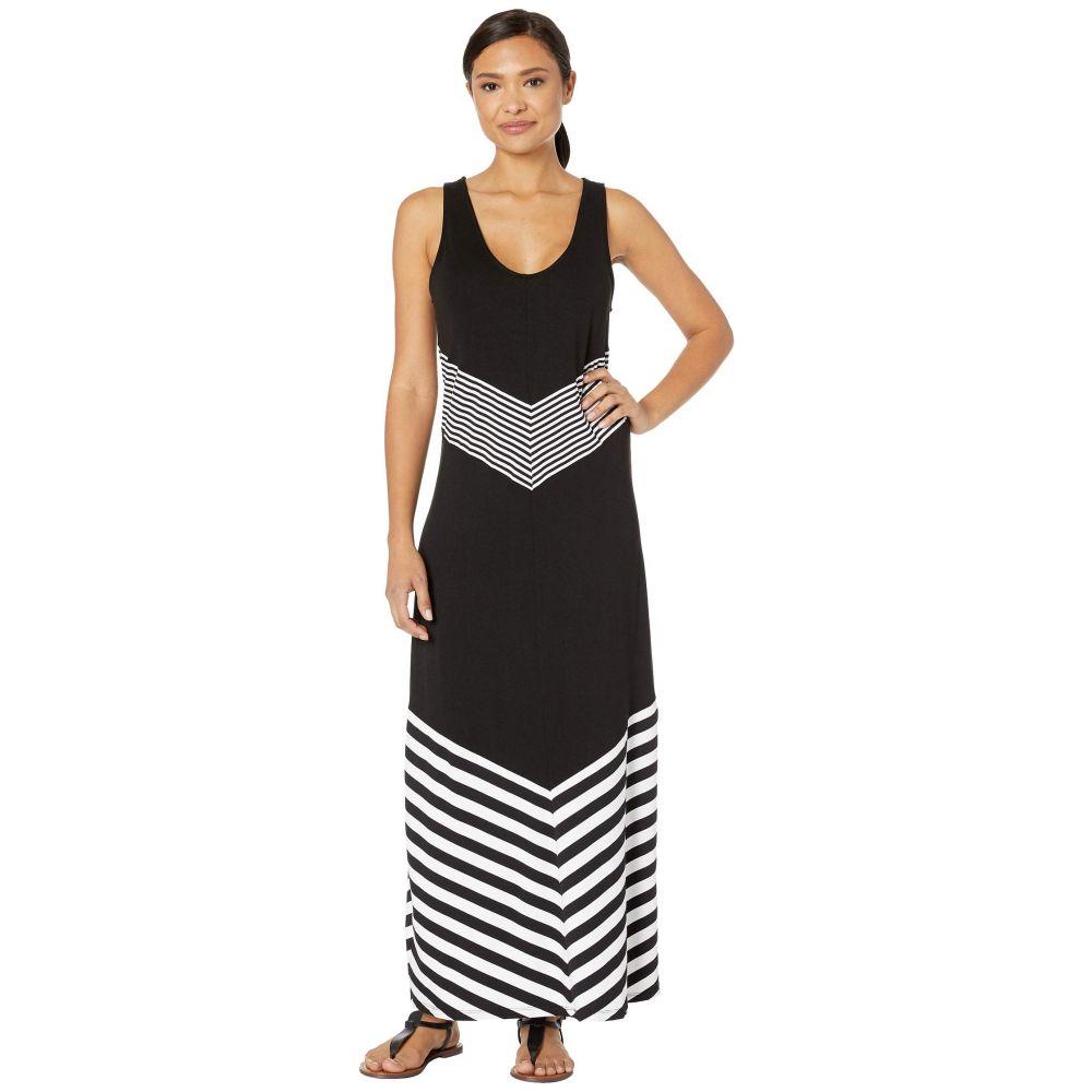 ラブランカ La Blanca レディース 水着・ビーチウェア ビーチウェア【Fine Line Tank Dress Cover-Up】Black/White