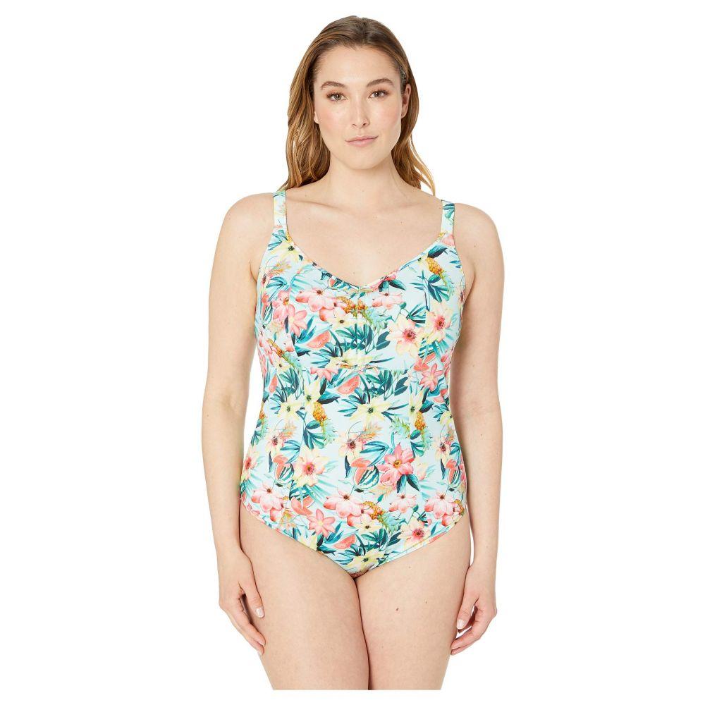 エロミ elomi レディース 水着・ビーチウェア ワンピース【Aloha Adjustable Molded Suit】Aqua