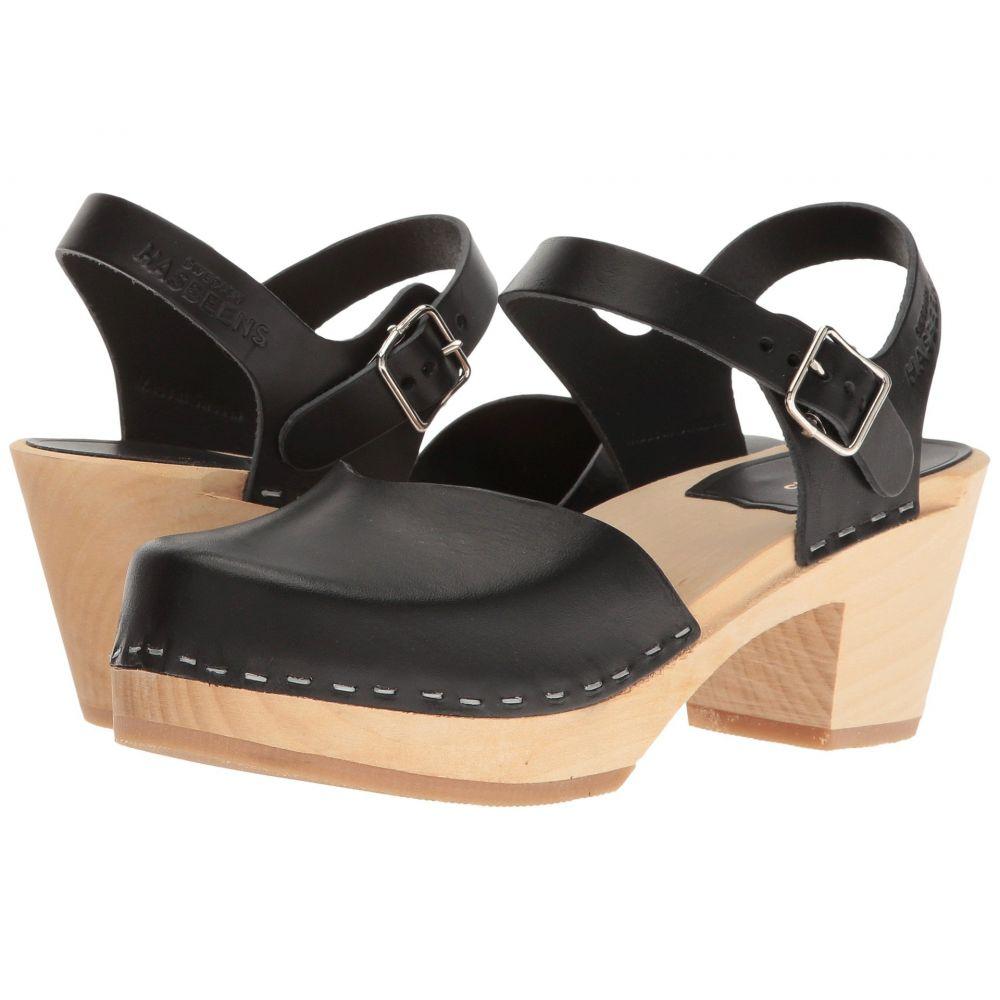スウェディッシュ ハズビーンズ Swedish Hasbeens レディース シューズ・靴【Covered High】Black