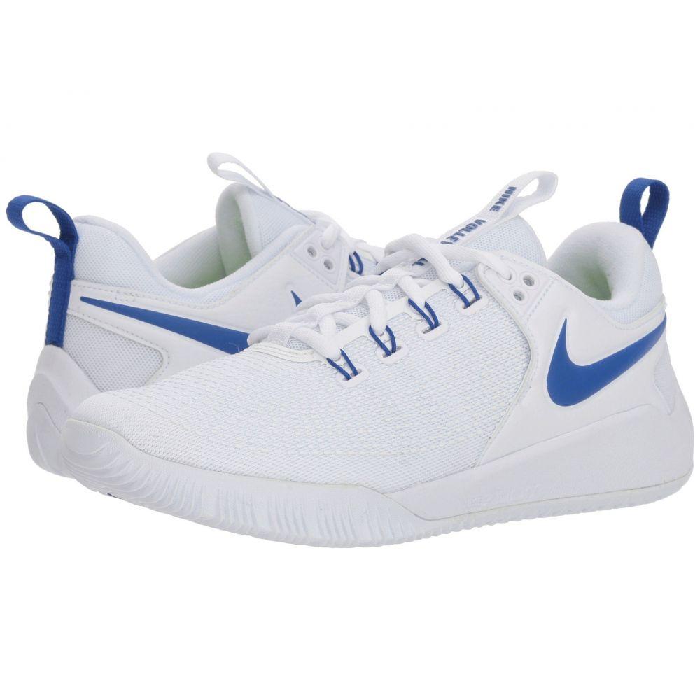 ナイキ Nike レディース バレーボール シューズ・靴【Zoom HyperAce 2】White/Game Royal