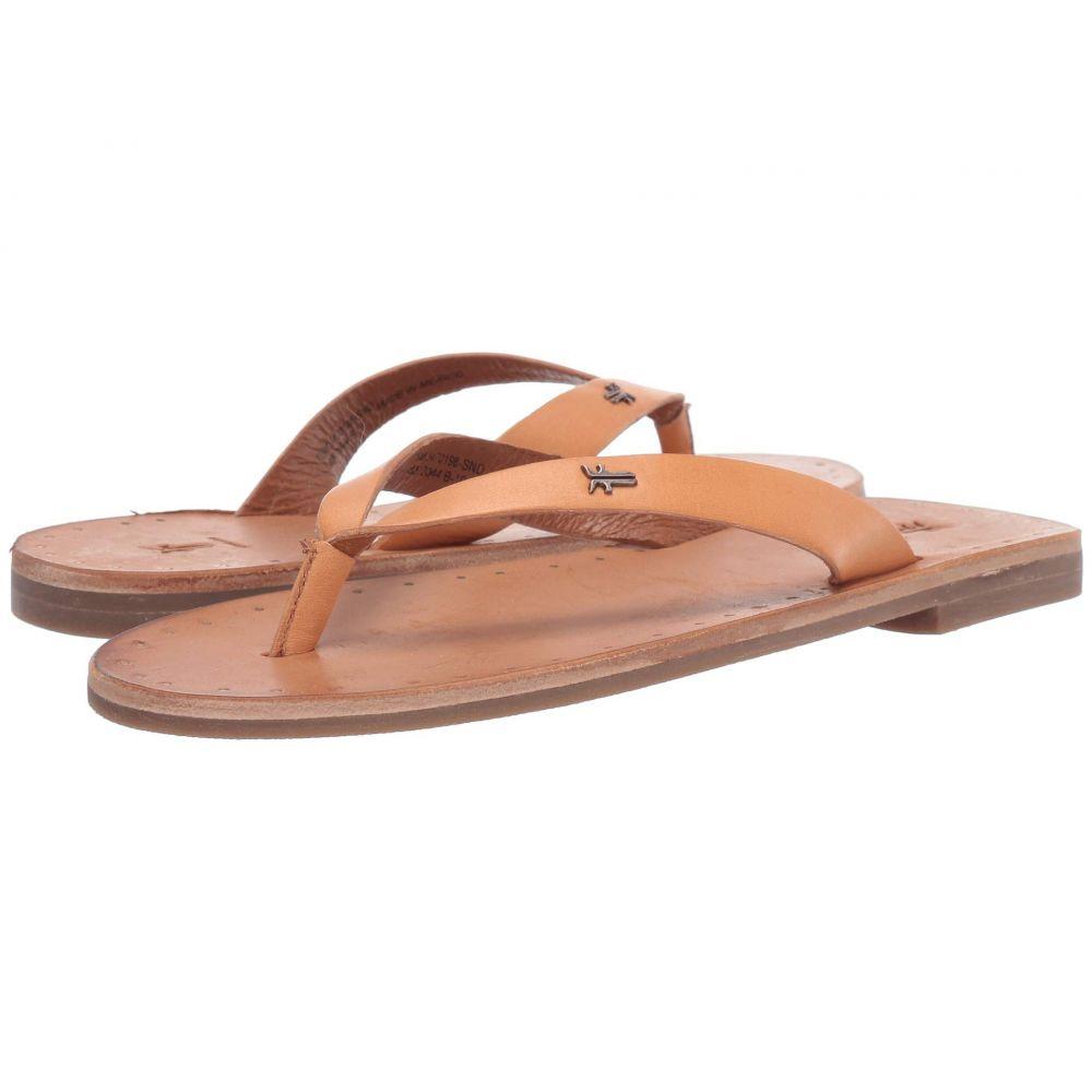 フライ Frye レディース シューズ・靴 ビーチサンダル【Azalea Logo Flip-Flop】Sand Antique Veg Tan