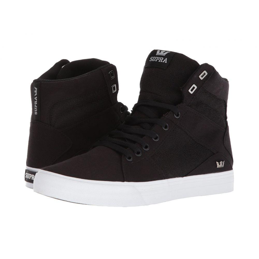 スープラ Supra メンズ シューズ・靴 スニーカー【Aluminum】Black/White