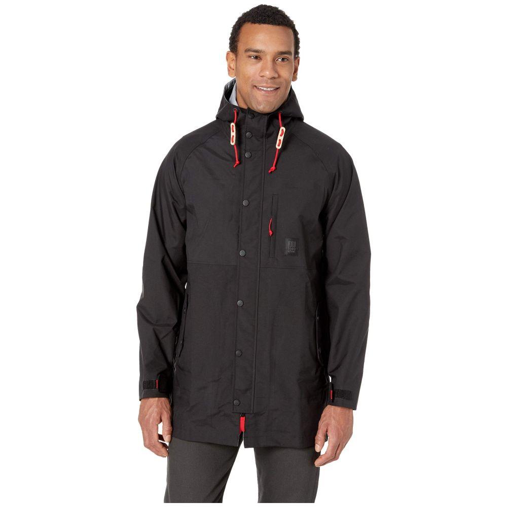 トポ デザイン Topo Designs メンズ アウター レインコート【Raincoat】Black