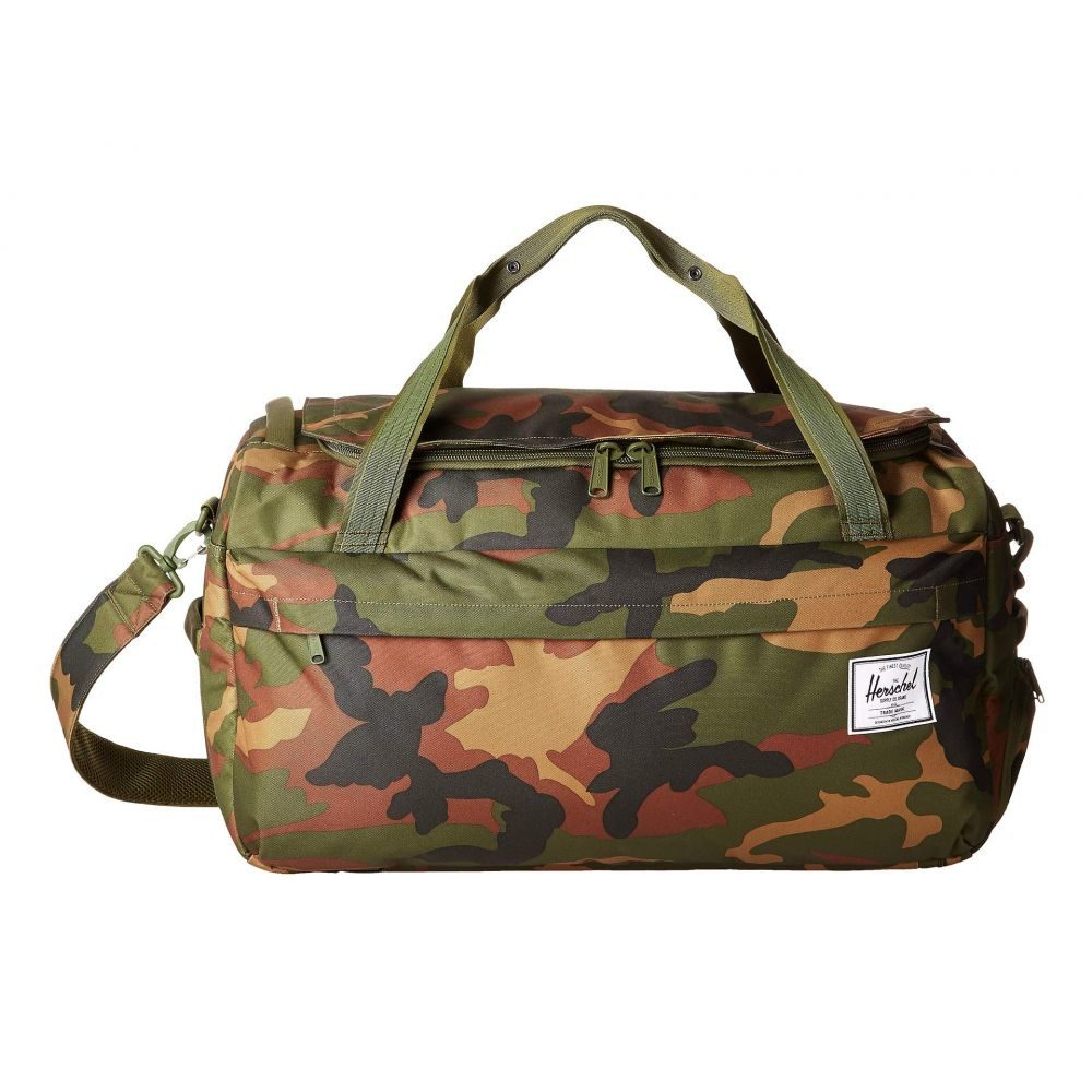 ハーシェル サプライ Herschel Supply Co. レディース バッグ ボストンバッグ・ダッフルバッグ【Outfitter Luggage 50 L】Woodland Camo