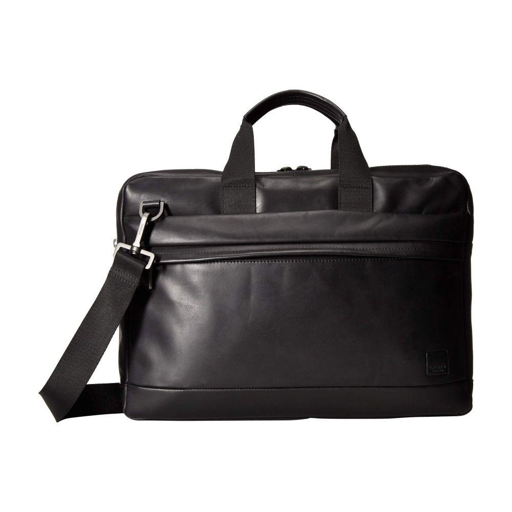 モノ パソコンバッグ【Barbican Laptop Briefcase】Black KNOMO バッグ London メンズ Roscoe